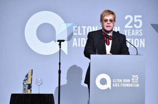 Bill Clinton ehrt Sir Elton John