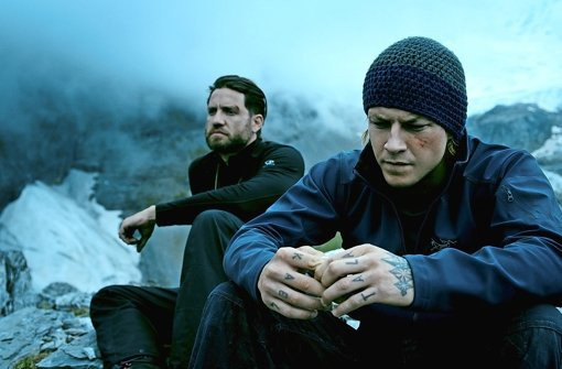 "Satte Action, wenig Tiefe: Edgar Ramírez  und ­Luke Bracey in ""Point Break"" Foto: Concorde"