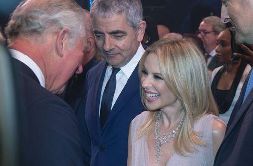 Kylie Minogue und Rowan Atkinson gratulieren vorab
