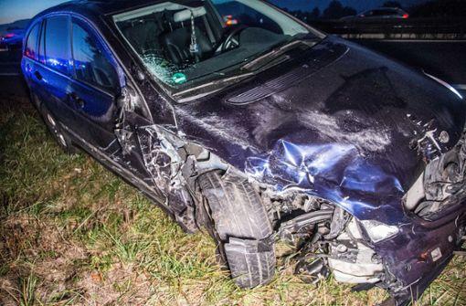 Der Unfall ereignete sich auf der B29 an der Anschlussstelle Schorndorf-West. Foto: SDMG