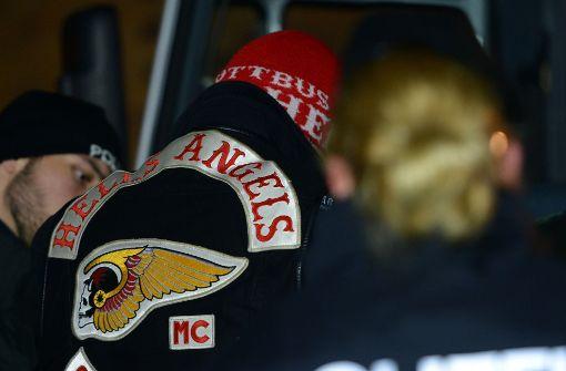 """Hells Angels beklagen """"rabiaten Einsatz"""" der Polizei"""