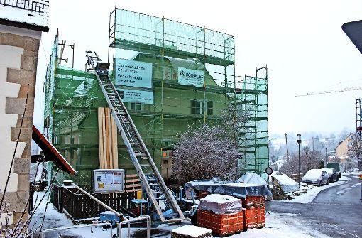 Bauarbeiten am Pfarrhaus dauern länger