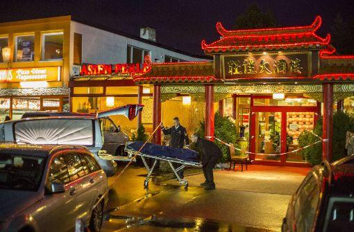4. März 2016: Im Restaurant Asien-Perle in Backnang wird eine Tote entdeckt.  Foto: 7aktuell.de/Adomat