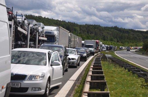 Autobahn am Sonntag kurzzeitig gesperrt