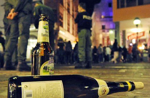 Grün-Schwarz stellt Alkoholverbot zurück