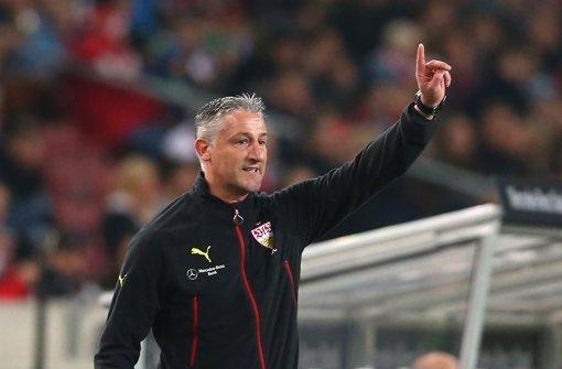 Sechs Spiele, elf Punkte: Jürgen Kramnys Bilanz als VfB-Trainer kann sich sehen lassen Foto: Getty