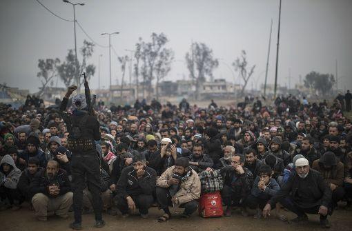 UN: 400.000 Zivilisten im umkämpften Mossul eingeschlossen