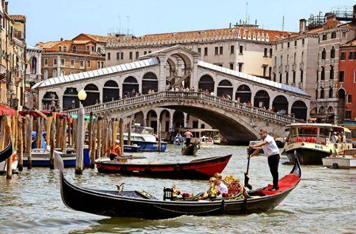 Bei einer Gondelfahrt in Venedig ist Joachim Vogel am 17. August 2013 ums Leben gekommen. Foto: dpa