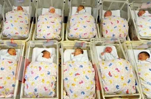 So wenig Babys im Land wie nie zuvor