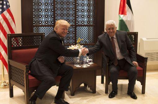 Trump: Lösung im Nahost-Konflikt kann Region befrieden