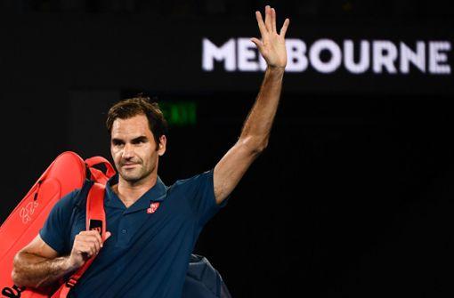 Roger Federer scheitert sensationell an Stefanos Tsitsipas