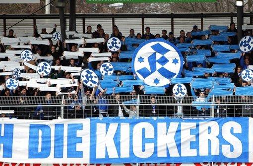 Die Stuttgarter Kickers wollen möglichst am 21. Februar ins Gazi-Stadion einziehen.  Foto: Pressefoto Baumann
