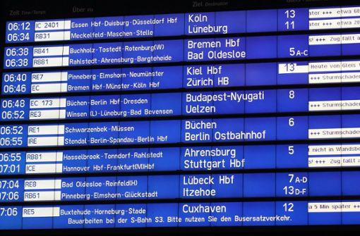 Zugstrecke Hannover-Wolfsburg noch gesperrt