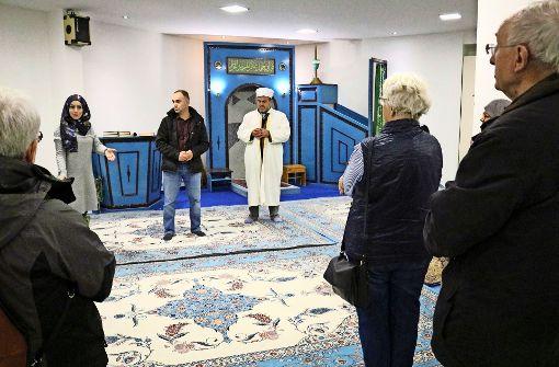 Das islamische Gotteshaus öffnet seine Türen