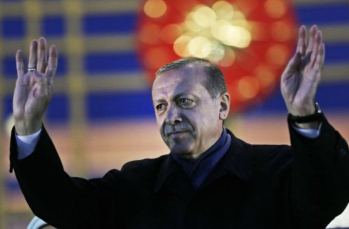 Von Erdogan erschöpft