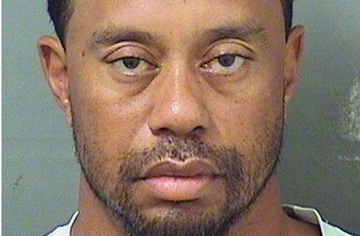 Golf-Superstar Tiger Woods festgenommen