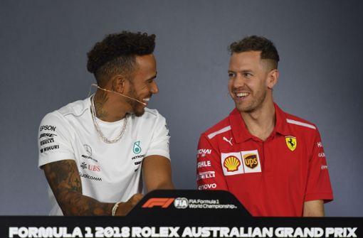 Hamilton und Vettel sind Gold wert