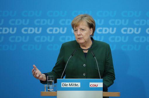 Mögliche Verhandlungen über große Koalition erst im neuen Jahr
