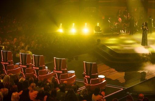 Im Studio, am Fernseher und im Internet verfolgte ein Millionenpublikum ihren Auftritt. Foto: Getty Images Europe