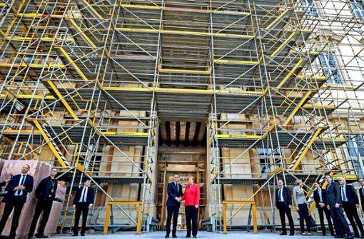 Europa ist die Baustelle von   Macron und Merkel