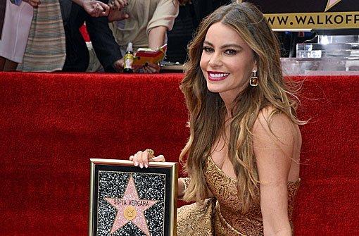 Sofía Vergara hat jetzt einen Stern