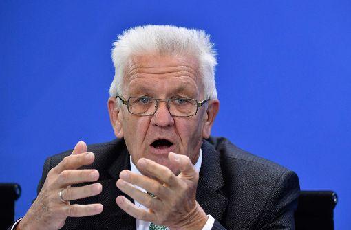 Kretschmann sieht Chancen auf Regierungsbeteiligung