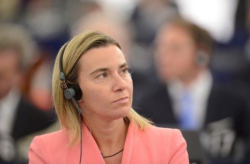 Mogherini zieht neue Sanktionen in Betracht