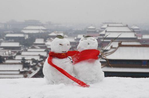 Die Verbotene Stadt im Schnee