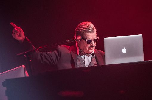 Boris Blank, der Mann am Computer Foto: Lichtgut/Julian Rettig