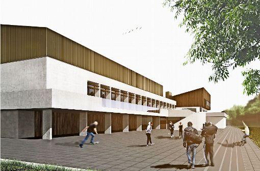 Um- und Neubau der Turn- und Festhalle hat begonnen