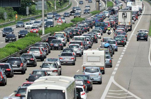 Deutlich mehr Staus auf Autobahnen