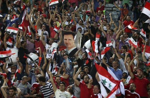 Syriens Regime nutzt Fußballerfolg für Propaganda