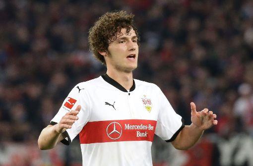 Der französische Fußball-Nationalspieler hat noch einen Vertrag bis 2020 beim VfB. Foto: Pressefoto Baumann
