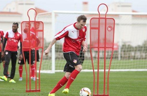 Will beim VfB Stuttgart wieder in Schwung kommen: Weltmeister Kevin Großkreutz Foto: Pressefoto Baumann