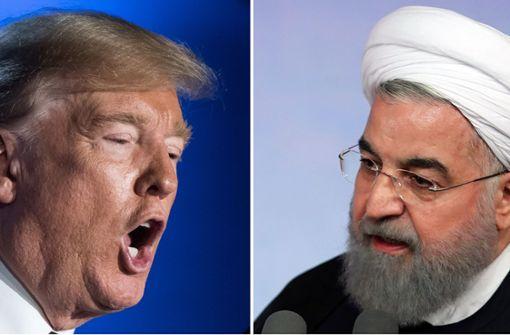 """Irans Präsident Ruhani spricht von """"psychologischem Krieg"""""""