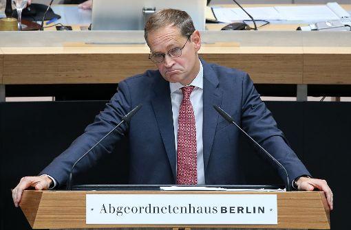 Unter Druck – Berlins Regierender Bürgermeister Michael Müller. Foto: dpa