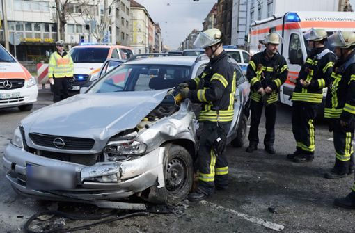 ...war mit seinem Opel... Foto: 7aktuell.de/Frank Herlinger