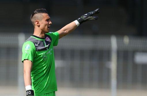 Odisseas Vlachodimos  zieht die Konsequenzen aus seiner Rolle beim VfB Stuttgart. Foto: Bongarts