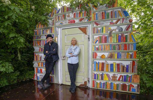 Peter Kratz und Christiane Wolff machen wieder Sommertheater. Foto: factum/Archiv
