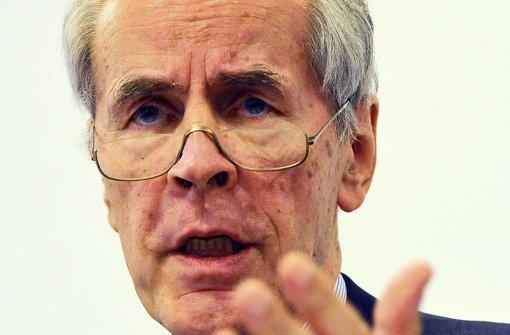 Der Direktor des Kriminologischen Forschungsinstituts Niedersachsen (KFN), Christian Pfeiffer Foto: dpa