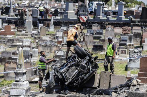 Nahtoderfahrung auf  dem Friedhof