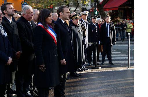 Gedenken an Terror-Opfer von Paris