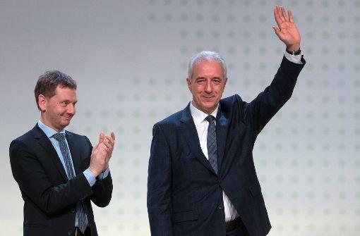 Kretschmer zum Ministerpräsidenten gewählt