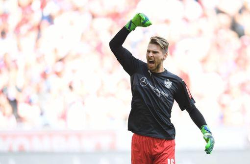 Stark gehalten, Ron-Robert Zieler! Der VfB-Torwart war einer der Garanten für den Erfolg in dieser Saison. Foto: dpa