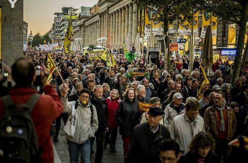 Tausende bei Demo zum Jahrestag in Stuttgart erwartet