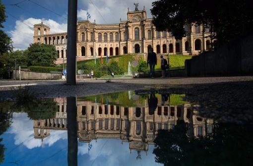 Das Ziel aller bayerischen Wahlkämpfer: das Maximilianeum, der Sitz des bayerischen Landtags. Foto: