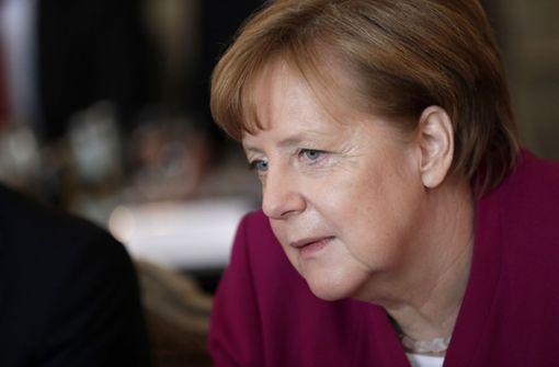 Merkel schließt Beteiligung an Militärschlag aus