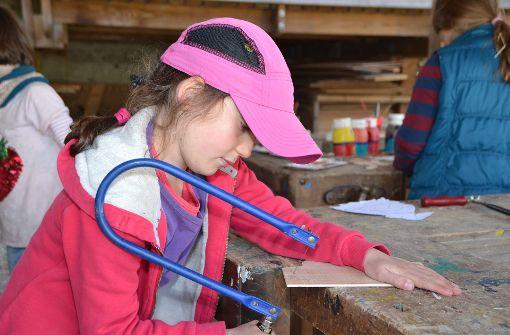 Mädchen werkeln lieber, wenn sie unter sich sind. Foto: Fatma Tetik