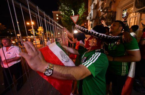 Mexiko-Fans belagern Teamhotel – Rafael Marquez bittet um Ruhe