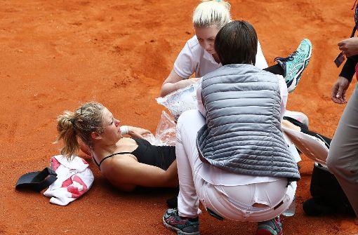 Laura Siegemund schwer am Knie verletzt